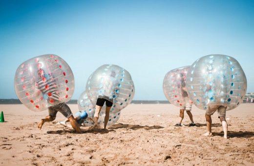 Bubble voetbal Scheveningen