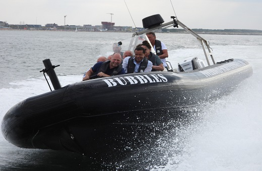 Powerboat Scheveningen RIB