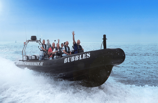 Powerboat Scheveningen RIB